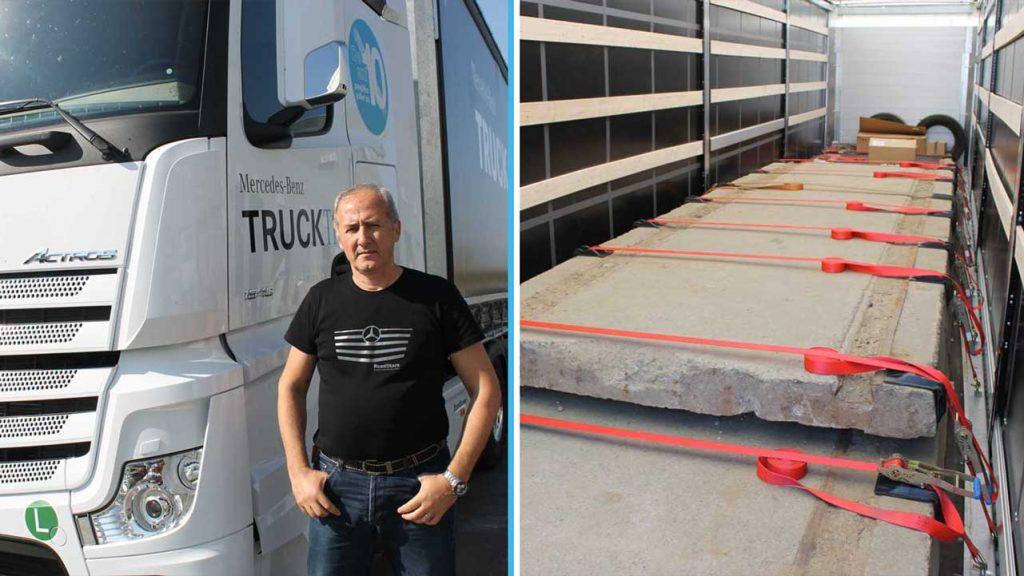 cum poate un șofer de camion să piardă în greutate